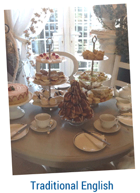 5 Star Traditional English Afternoon Tea by Lea