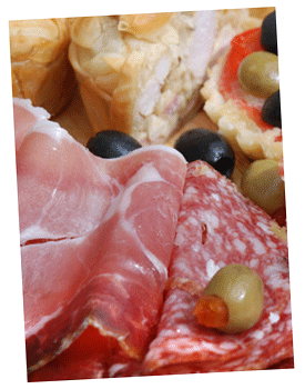 Business Platters, sandwiches, savoury pastries, sweets, by Lea